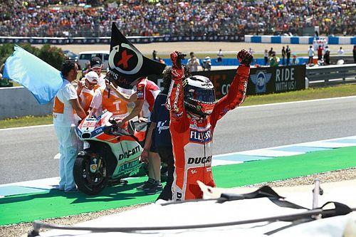 Video: Lorenzo ringrazia i ducatisti per l'affetto dopo il podio di Jerez