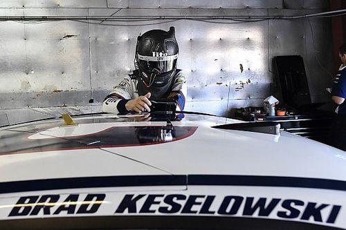 Keselowski wins incident-free first stage at Michigan