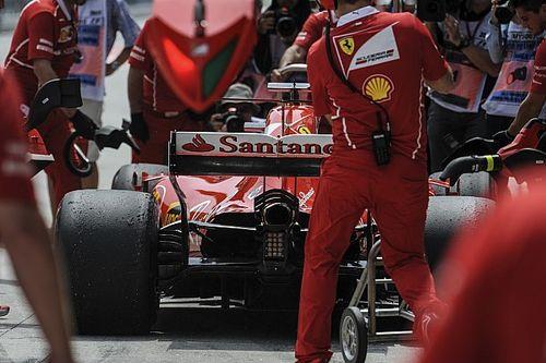 Ferrari aprovecha último lugar de Vettel para modificar motor