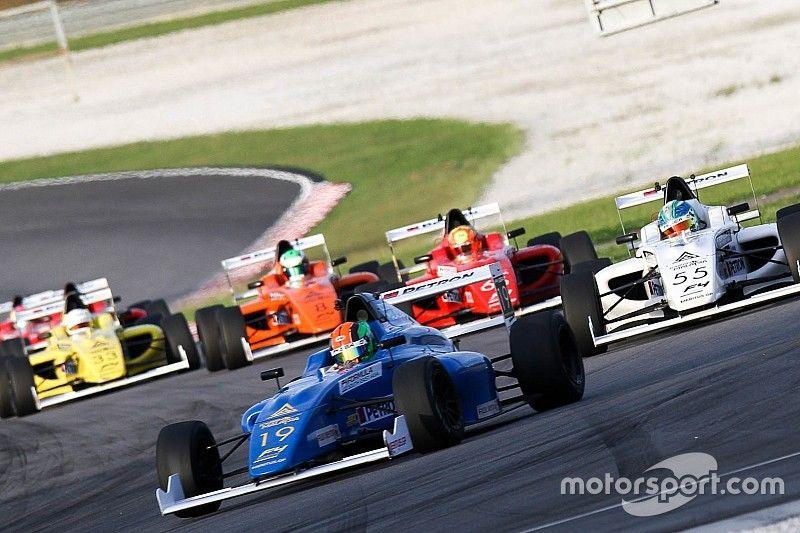 Tous les pilotes de F4 abandonnent à Sepang!