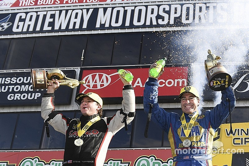Torrence, Capps take their eighth wins of the year at Gateway