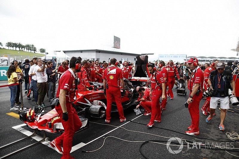 معرض الصور: أهم الرسائل اللاسلكية بين الفرق والسائقين في سباق ماليزيا