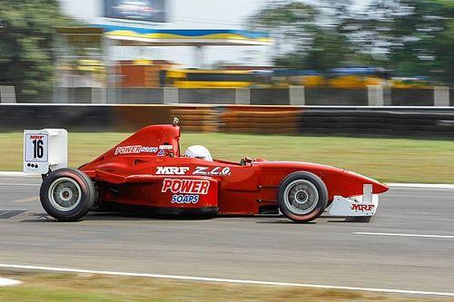 Tharani wins shortened first F1600 race