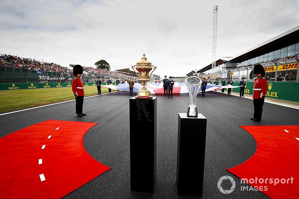 A 2020-as F1-es Brit Nagydíj hivatalos időrendje