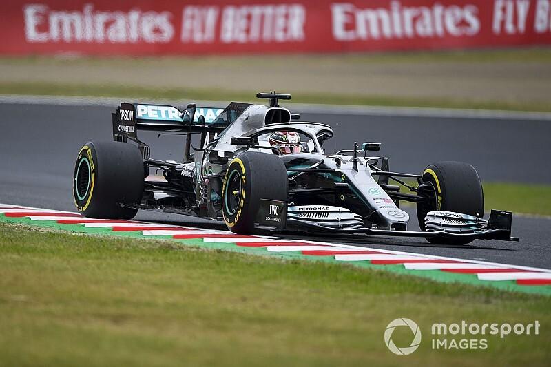 Mercedes fait des ravages dans les courbes de Suzuka, selon Red Bull