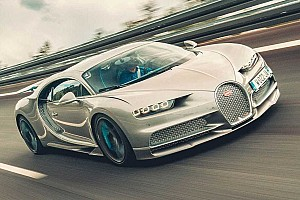 Motor1.ru: Bugatti разогнала суперкар Chiron до 490 км/ч