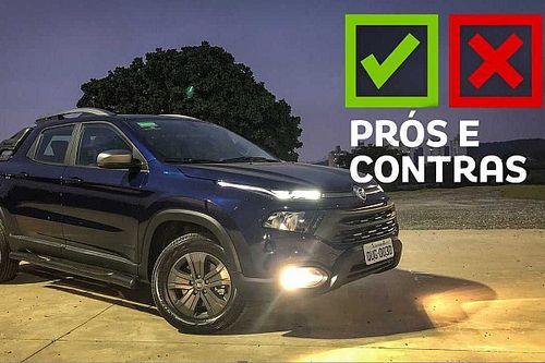 Prós e Contras: Fiat Toro Freedom S-Design 2020