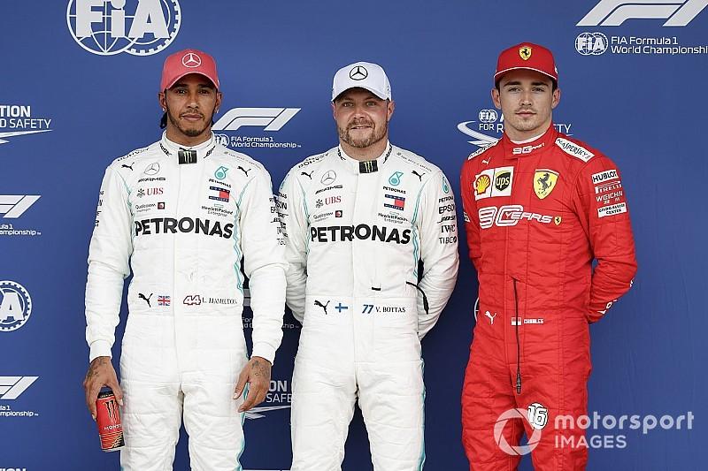 La parrilla de salida del GP de Gran Bretaña de F1