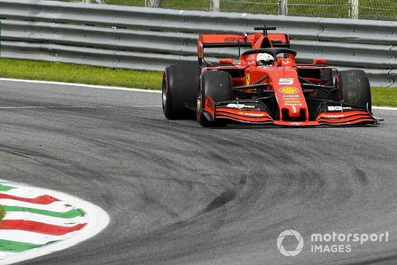 Schorsing dreigt voor Vettel na strafpunten in Italiaanse GP