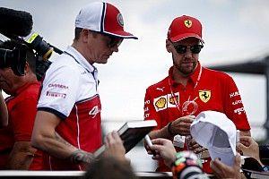 ライコネン、ベッテルとフェラーリの関係悪化を疑問視「チームにとって利益にならない」