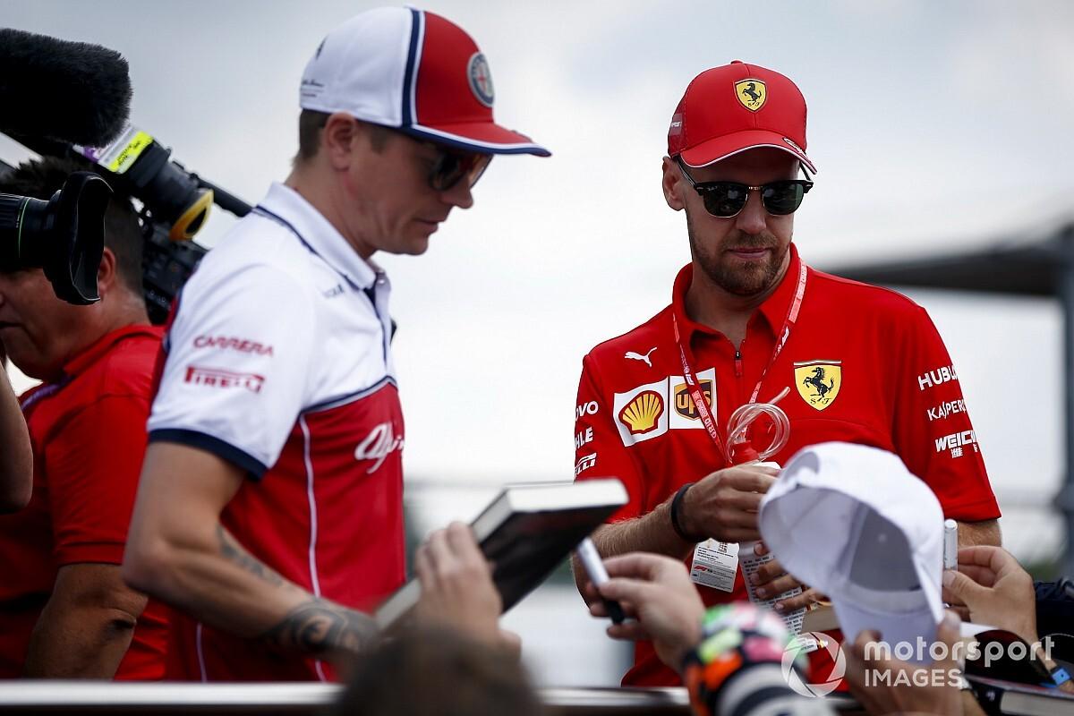 """Kimi: """"Vettel-Ferrari? Rapporto descritto peggio della realtà"""""""