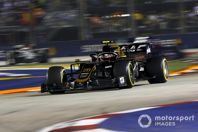 Plastic sandwich bag caused Magnussen's pace drop-off