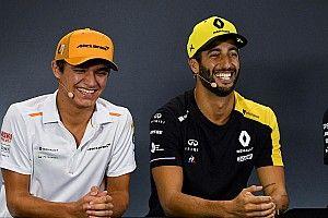 Norris Penasaran dengan Gaya Mengemudi Ricciardo