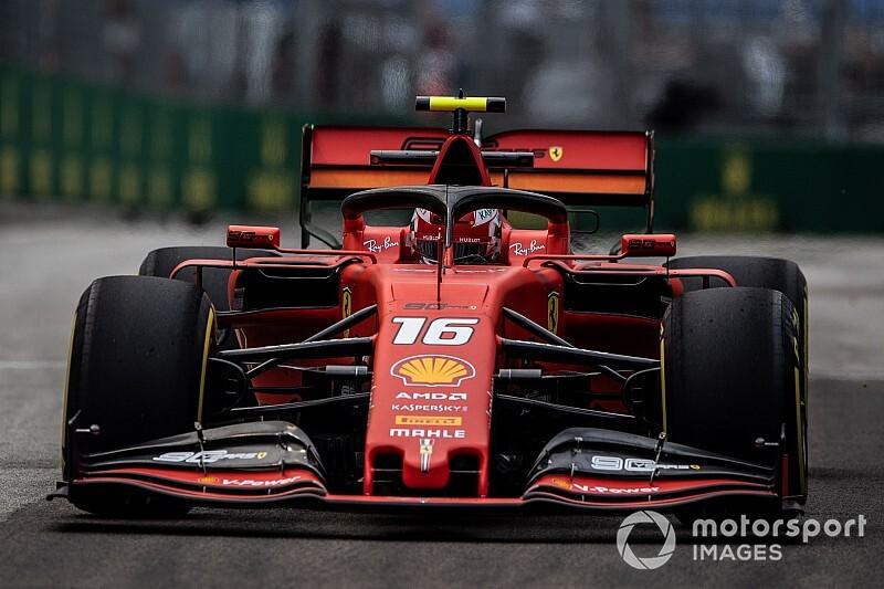 """Leclerc: """"Rakiplerimiz çok güçlü"""""""