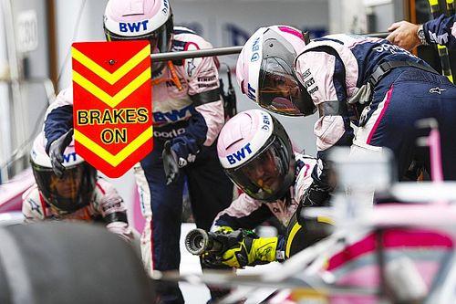GP de Belgique : les arrêts au stand
