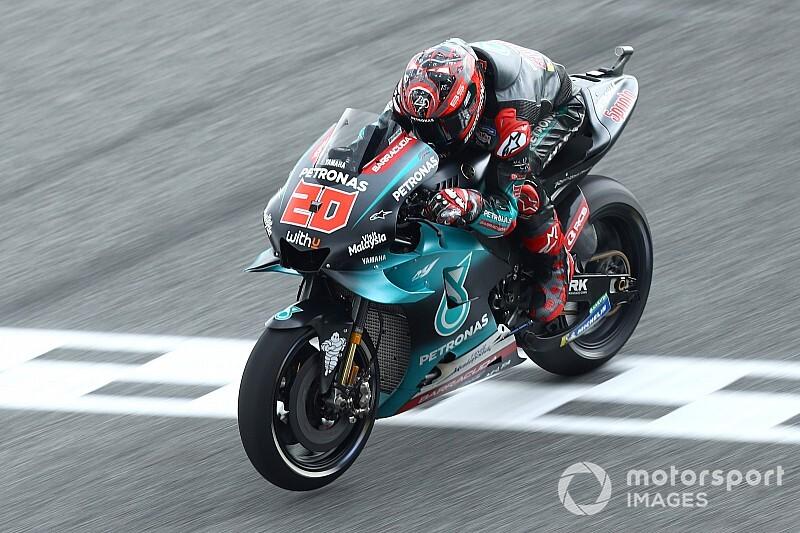 Yamaha dominant op vrijdag in Thailand, gehavende Marquez zesde