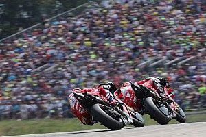 Ducati ne visera pas le podium en course