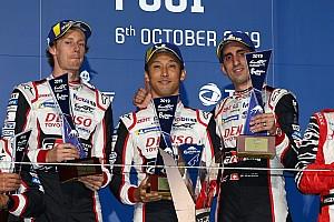 Victoria de Buemi, Hartley y Nakajima en Fuji