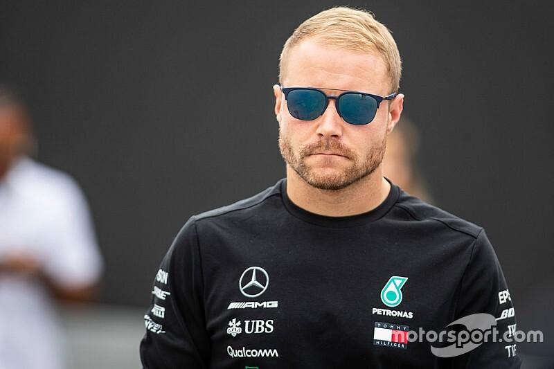 Mercedes W11: üléspróbán Bottas