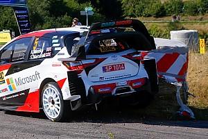Toyota modifica la parte trasera de su Yaris WRC para legalizarla