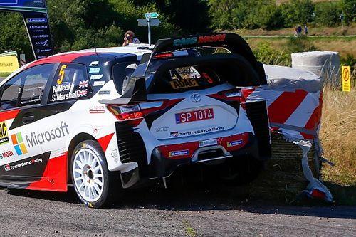 WRC: Toyota ha modificato le ali posteriori delle Yaris