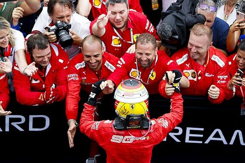 """Vettel: """"Mantenemos la moral alta y creemos en nuestra fuerza"""""""