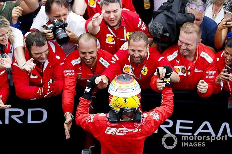 """Feliz"", Vettel sai de último para heroico segundo na Alemanha"