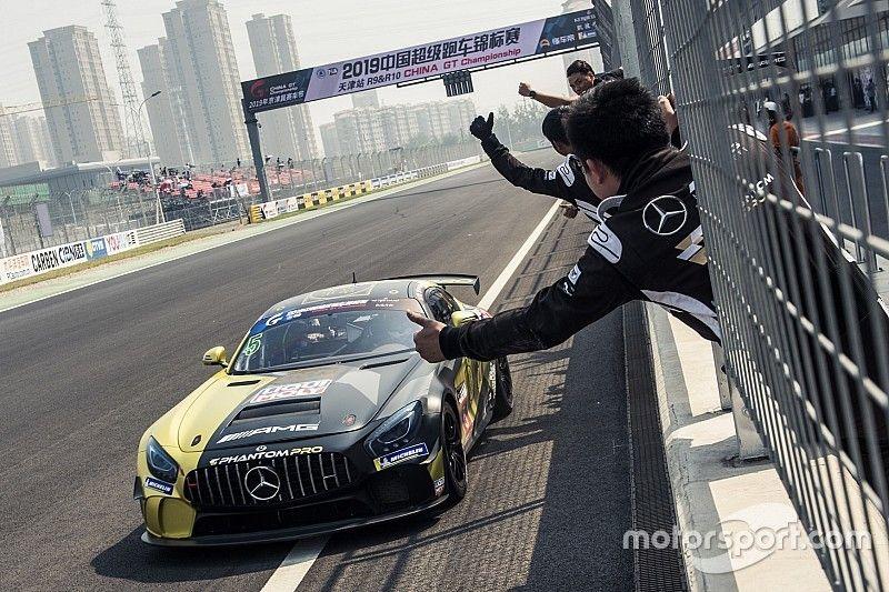 Alex Fontana vince e consolida la leadership di campionato nel China GT