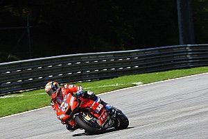 Pese a caída, Dovizioso dice tener mejor ritmo que Márquez
