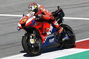 Miller stond met 'een been op podium' voor crash in Oostenrijk