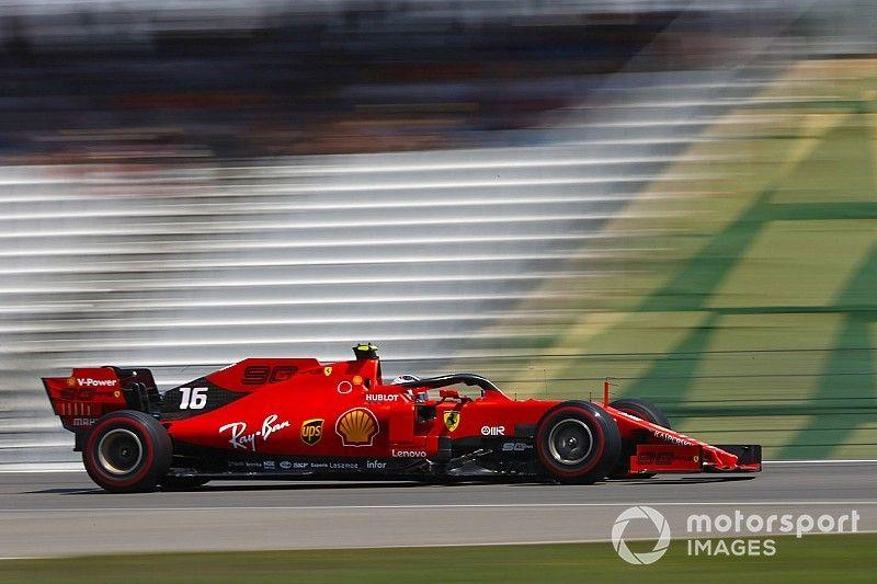 Leclerc supera Verstappen e lidera último treino livre na Alemanha