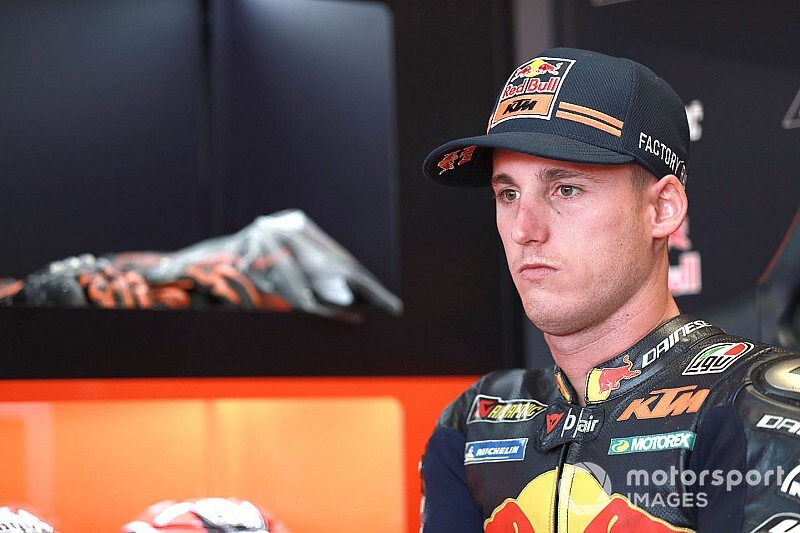 Espargaro out of Aragon GP after practice crash