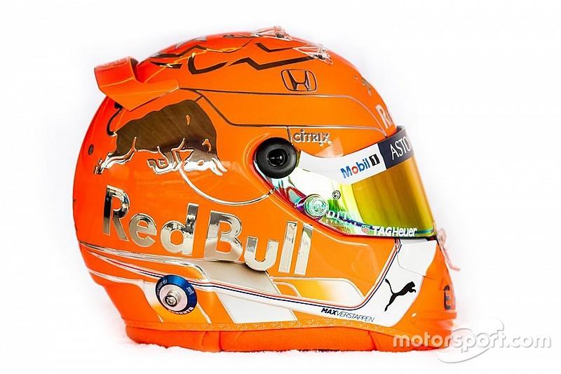 Fotos: los nuevos cascos de Verstappen, Gasly y Albon