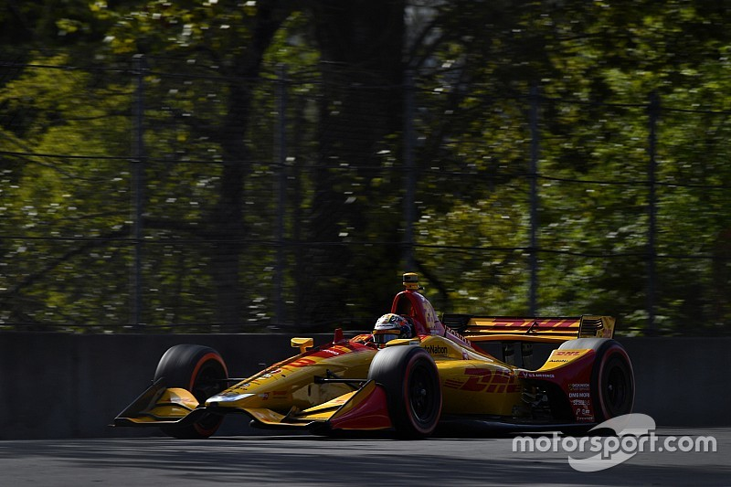 Portland IndyCar: Hunter-Reay leads 'warm-up' session