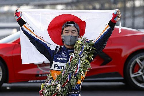 佐藤琢磨、2度目のインディ500勝利「今日は僕らのマシンがベストだった!」