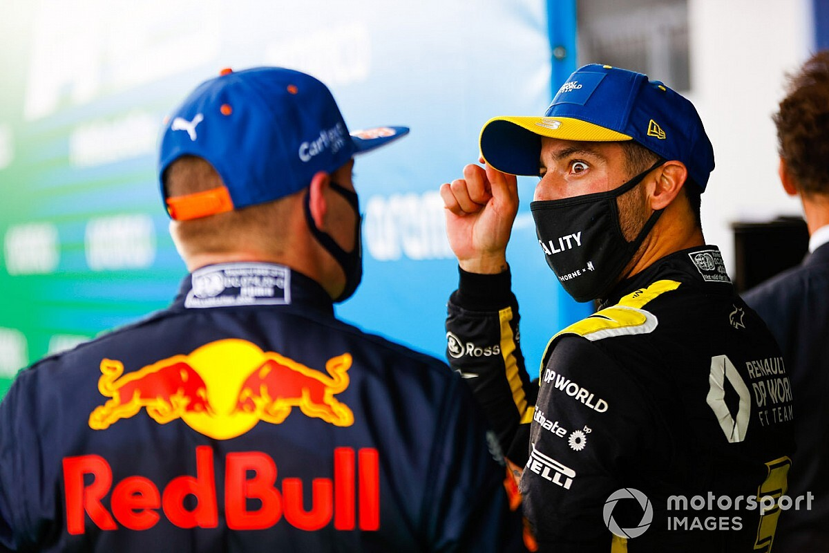 Ricciardo over Nordschleife: 'Geweldige baan, maar niet voor mij'