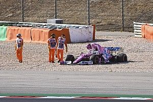 Vídeo: el controvertido accidente de Verstappen y Stroll en Portugal
