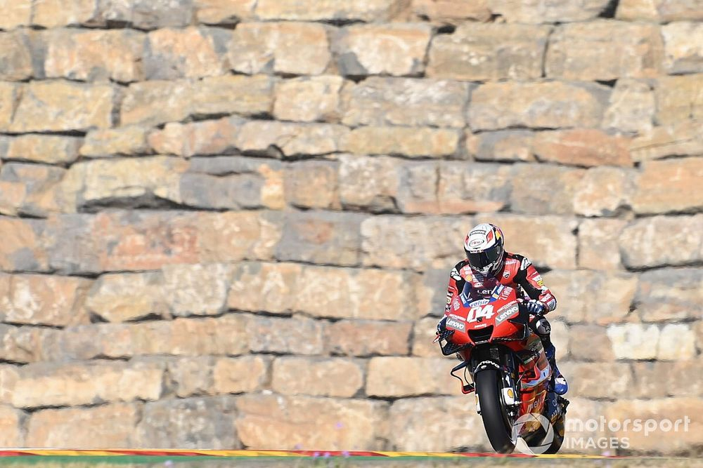 """Dovizioso """"worried"""" about Q2 chances at Aragon"""