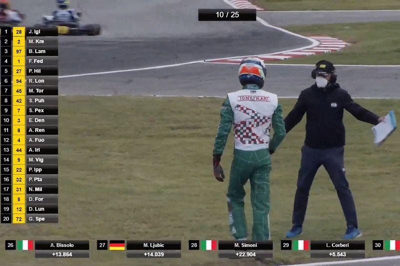 """Piloto chama incidente no Mundial de Kart de """"pior dia de sua vida"""" e anuncia afastamento do esporte"""