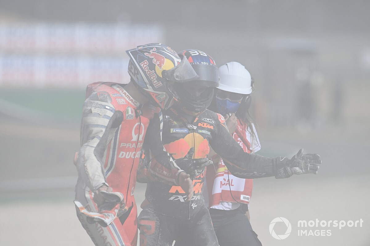 Binder bestraft voor veroorzaken crash met Miller in Aragon
