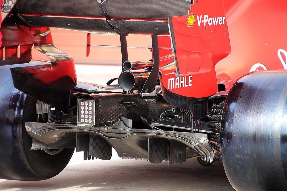 Ferrari: è ancora buono l'estrattore di Melbourne