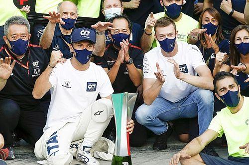 アルファタウリ・ホンダ代表、イタリアGPで初優勝のガスリー残留を期待
