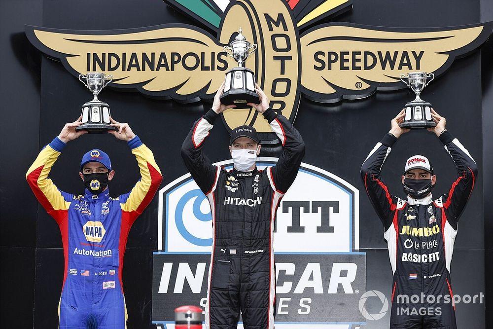 IndyCar Harvest GP: Newgarden kazandı, Dixon'la farkı azalttı