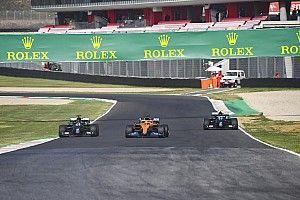 Así fue la lucha por la pole del primer GP de la Toscana