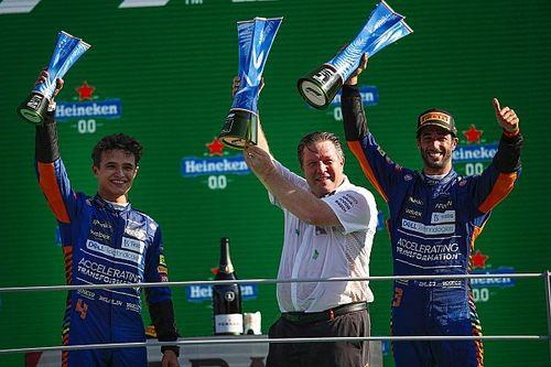 Stats Italie 2021 - McLaren est de retour !
