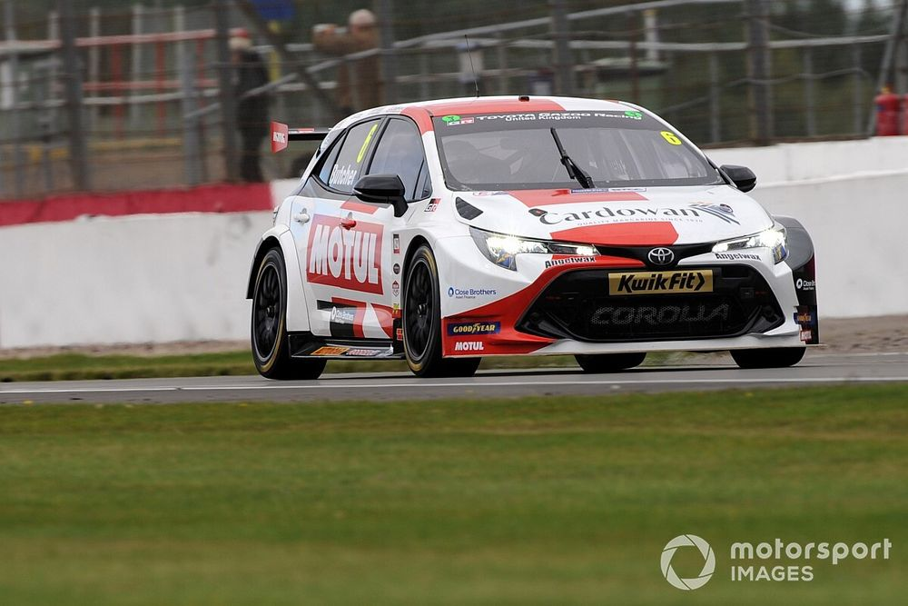 Silverstone BTCC: Butcher takes race one win after pass on Ingram