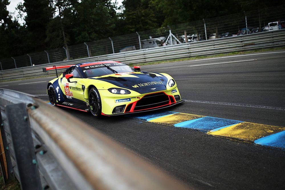 VIDEO: #98 Aston Martin uit de race na zware crash op Le Mans