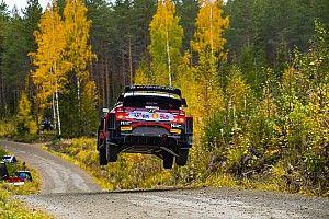 SS1-SS3 Reli Finlandia: Tanak Memimpin, Toyota Belum Temukan Kecepatan