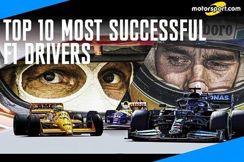 I piloti più vincenti della Formula 1