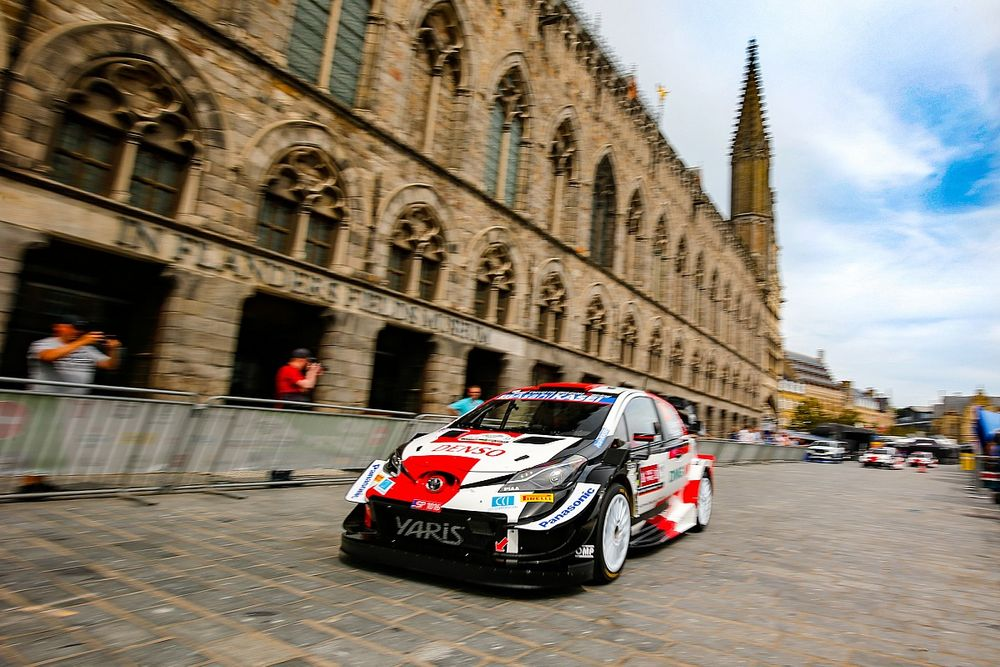 Toyota WRC pair expecting high puncture risk in Belgium